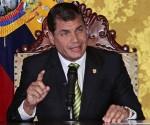 El presidente ecuatoriano Rafael Correa acogerá reunión entre Nicolás Maduro y Juan Manuel Santos. Foto: Archivo