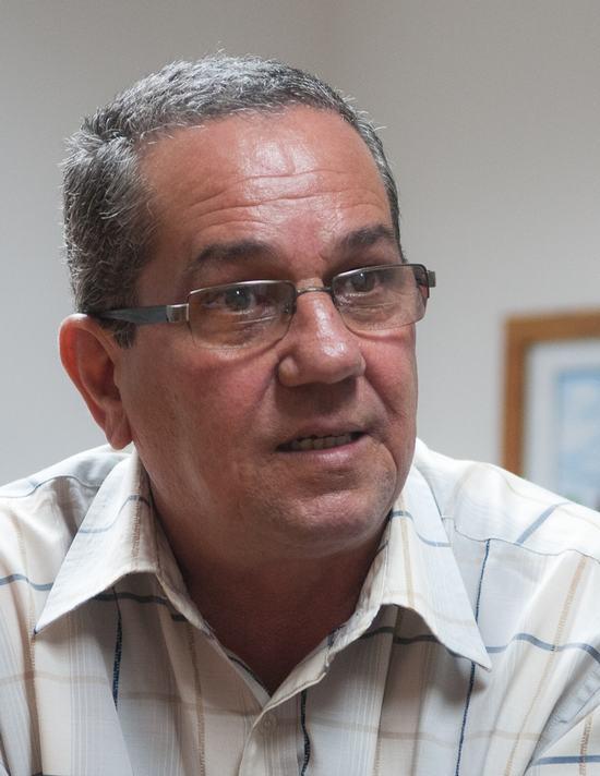 René Sánchez Díaz. Foto: Raúl Pupo./ Juventud Rebelde