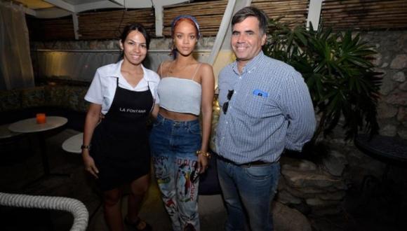 Rihanna en Cuba, 28 de mayo de 2015