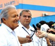 LA HABANA-ARRIBA A CUBA PRESIDENTE DEL SALVADOR