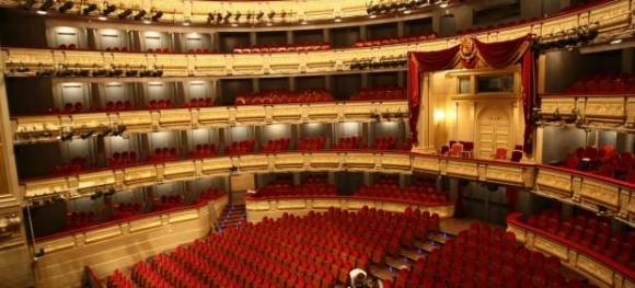 Interior del Teatro Real de Madrid Foto tomada de 20minutos.es