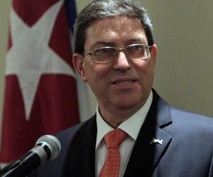 Bruno Rodríguez: El Presidente de EEUU tiene facultades amplísimas para modificar el bloqueo