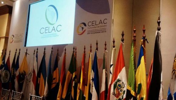 VIII Reunión de Cancilleres de la CELAC. Foto: Cancillería Ecuador (Tomada de Tele Sur).