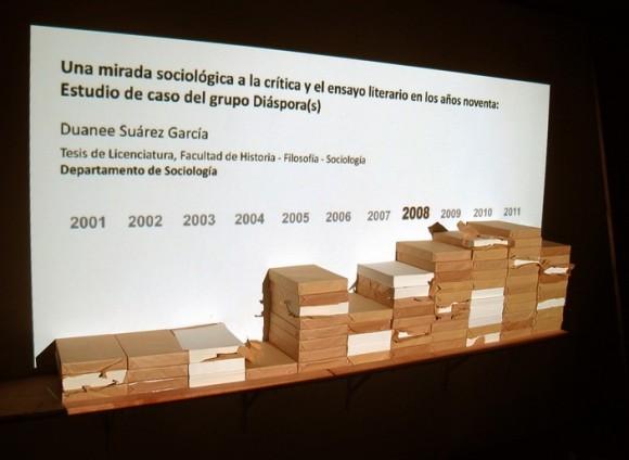 """""""Notas sobre el hielo"""", de Celia González Álvarez y Yunior Aguiar Perdomo."""