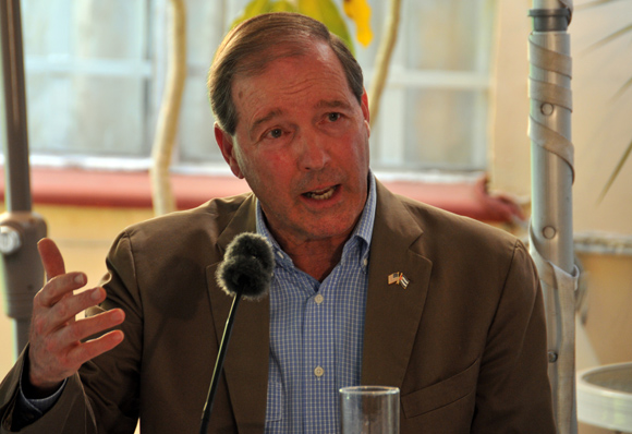 Intervención de Tom Udall, Senador por Nuevo México. Foto: Ladyrene Pérez/ Cubadebate.