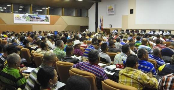 Trabajo en Comisiones, en el XI Congreso de la Asociación Nacional de Agricultores Pequeños (ANAP), en el Palacio de las Convenciones, en La Habana, el 16 de mayo de 2015. AIN FOTO/Marcelino VAZQUEZ HERNANDEZ/rrcc