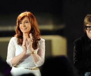 Presidente de Argentina, Cristina Fernández, inaugura Centro Cultural Néstor Kirchner. Foto: Telam.