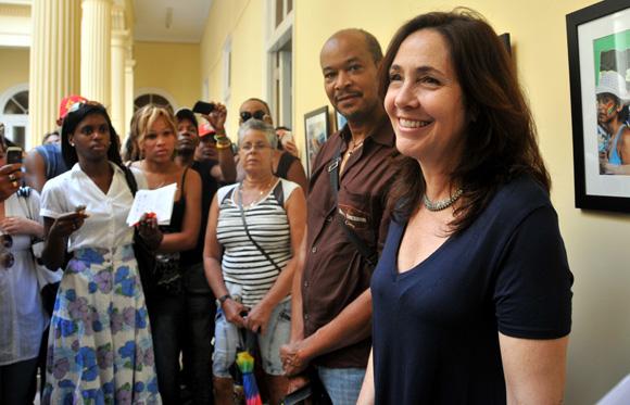 Inauguración de una exposición de Byron Motley  los momentos más importantes de la edición anterior del eventoFoto: Ladyrene Pérez/ Cubadebate.