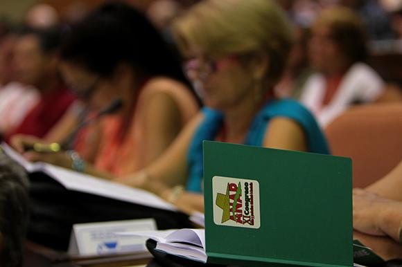 Comenzó XI Congreso de la ANAP en La Habana. Foto: Ladyrene Pérez / Cubadebate.