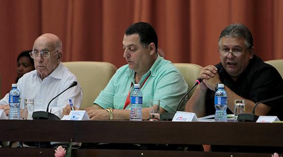 Comenzó XI Congreso de la ANAP, presidido por José Ramón Machado Ventura, segundo secretario del Comité Central del Partido Comunista de Cuba. Foto: Ladyrene Pérez / Cubadebate.