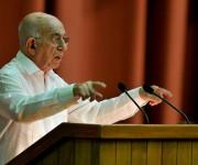 José Ramón Machado Ventura, segundo secretario del Comité Central del Partido. Foto: Ladyrene Pérez/ Cubadebate.