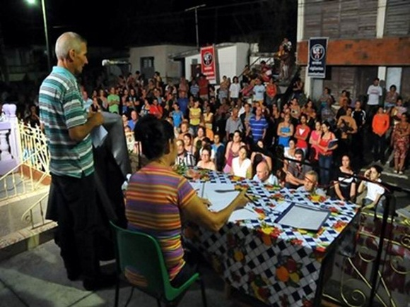 Asamblea de Rendición de cuenta. Foto: Aroldo García/ Radio Rebelde.