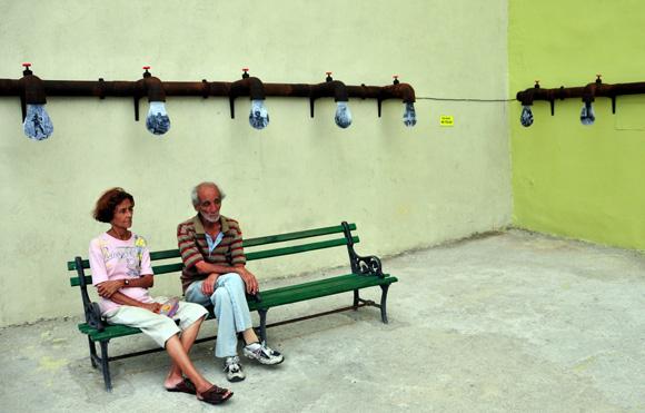 Goteo, fotos de 1958 a 1982 son de Ernesto Fernández, fotos de 1986 a 2015 son de Ernesto Javier Fernández. Foto: Ladyrene Pérez/ Cubadebate.