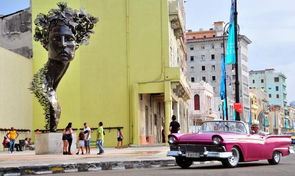 Escultura de Rafael San Juan. Foto: Ladyrene Pérez/ Cubadebate.