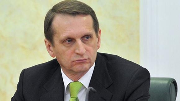 Serguei Naryshkin, presidente de la Duma estatal de Rusia. Foto: AP (Archivo).