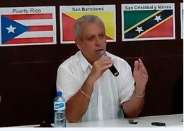 Dr. Eliades Acosta Matos, Feria del Libro de Santo Domingo, Pabellón Nuestra América, 25 de abril, 2015.