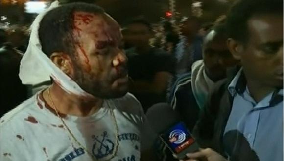 La policía de Israel arremetió contra los manifestantes. | Foto: teleSUR.