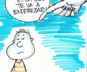 Caricatura: Adán