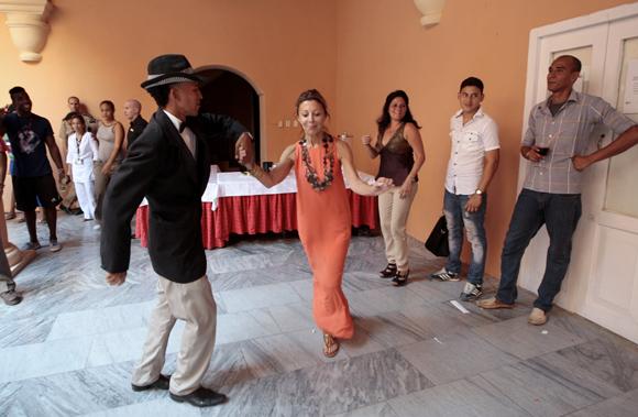 Patricia Farber al son del Sexteto Habanero. Foto: Ladyrene Pérez/ Cubadebate.