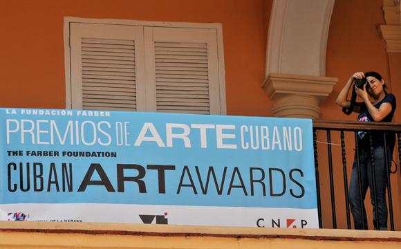 Entrega Fundación Farber Premios de Arte Cubano en La Habana. Foto: Ladyrene Pérez/ Cubadebate.