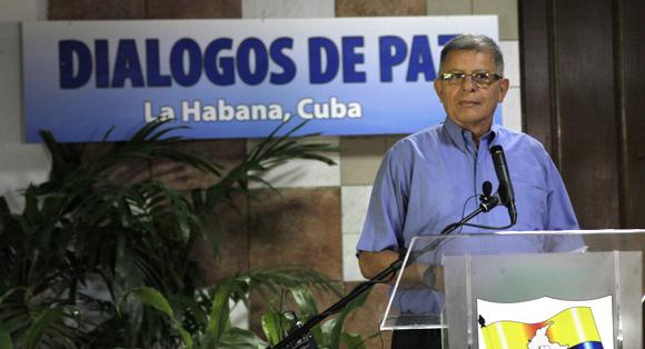 Ricardo Téllez, miembro de las FARC-EP. Foto: Ismael Francisco/Cubadebate.