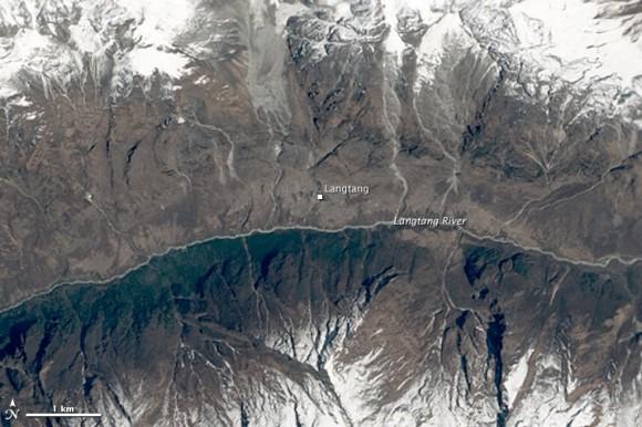 Imagen tomada el 11 de abril de 2014. Foto: NASA