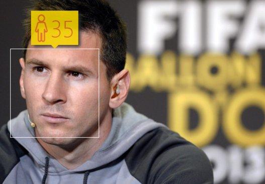 Leo Messi, estrella barcelonista, tiene apenas 27 años.