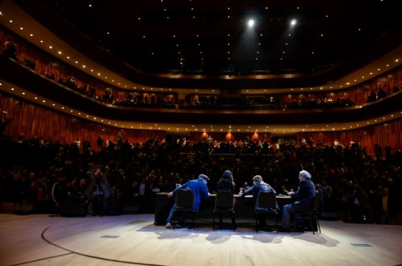 La presentación fue a auditorio lleno. Foto: Kaloián / Cubadebate