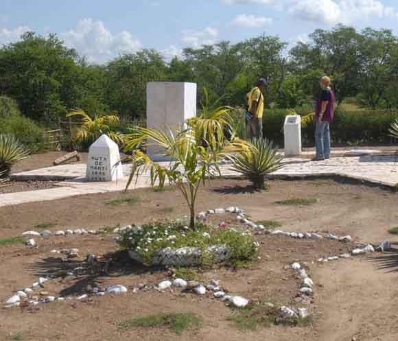 Aquí estuvo el campamento de Vuelta Grande,  sitio desde donde José Martí partió hacia el combate de Dos Ríos. Foto: Oscar Alfonso Sosa / AIN.