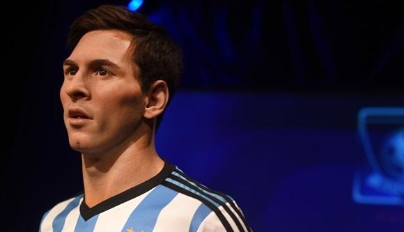 Museo de Madame Tussauds en Nueva York inauguró nueva estatua de cera Lionel Messi. (AFP)