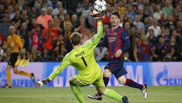 Leo Messi dejó al Barça con un pie sobre la gran final de Berlín y decidió un partido de los que enamoran en el Camp Nou.
