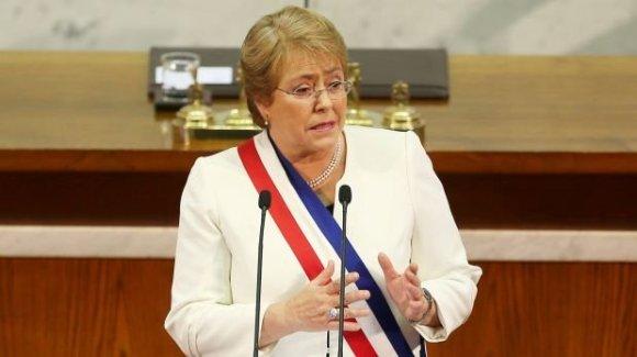 Michelle Bachelet. Foto: Reuters.