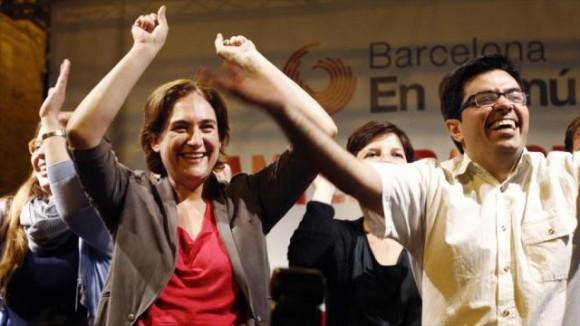 Los militantes de Barcelona en Común han logrado derrotar las aceitadas maquinarias del PSOE, el PP y el nacionalismo catalán de derechas.