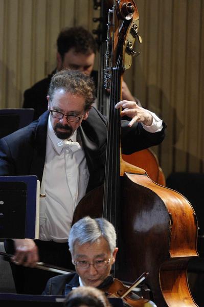 Músicos de la Orquesta Sinfónica de Minnesota, durante la segunda presentación de esta orquesta, en el Teatro Nacional de Cuba, en  La Habana, el 16 de mayo de 2015. AIN FOTO/Roberto MOREJÓN RODRÍGUEZ/