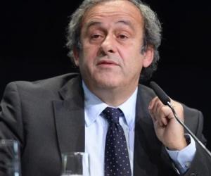 El presidente de la Unión Europea de Fútbol (UEFA), Michel Platini. Foto: EFE.