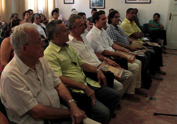Entrega de Premios y Menciones del Arte del Libro Raúl Martínez 2014. Foto: Ladyrene Pérez/ Cubadebate.