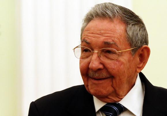 Raúl Castro durante el encuentro en el Kremlin. Foto: Anatoly Maltsev/Pool via AP
