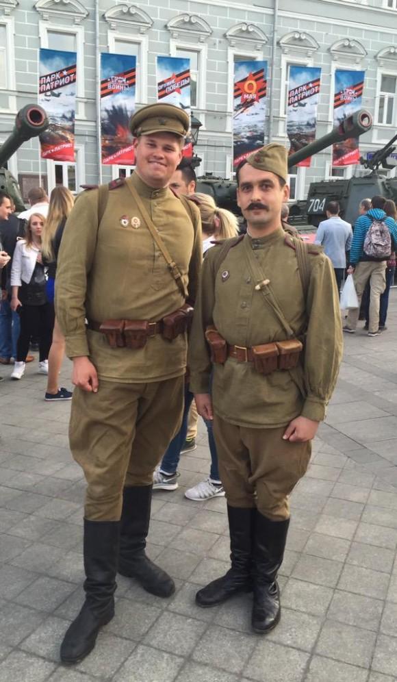 rusos celebran victoria