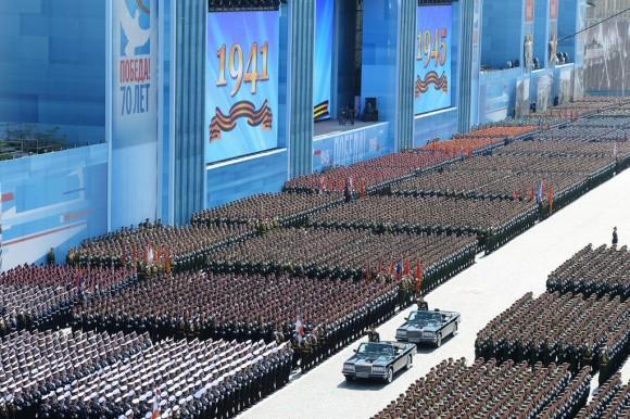 tropas plaza roja