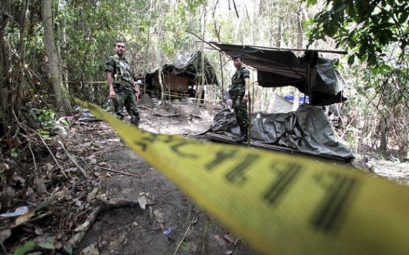 Imagen de una de las tumbas clandestinas en Malasia. Foto tomada de Diario de Yucatán
