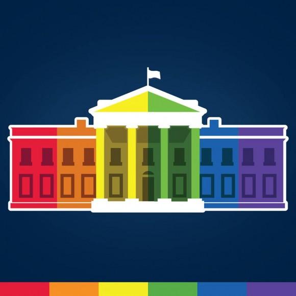 Logo usado por la Casa Blanca en sus perfiles sociales. Foto: Facebook