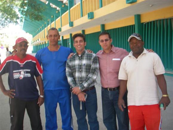Maximiliano Gutiérrez, Faustino Corrales, Fernando Rodríguez, Félix Julio Alfonso y Lázaro Madera.