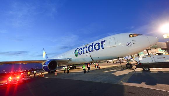 Aerolínea Condor incrementará vuelos a Cuba