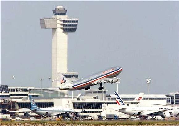 Aeropuerto John F. Kennedy en Nueva York. Foto: EFE