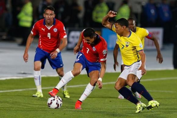 Alexis tuvo altas y bajas en el partido.