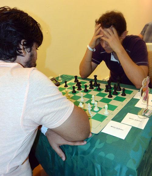 Aryam Abreu terminó bien ubicado en el día inaugural. Foto: Katheryn Felipe