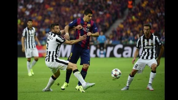 Barcelona-Juventus  en la Final de la Champions, 6 de junio de 2015. Foto: AFP