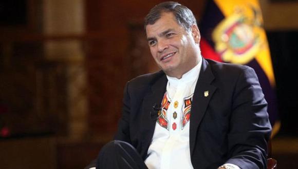 Rafael Correa. Foto: Archivo.
