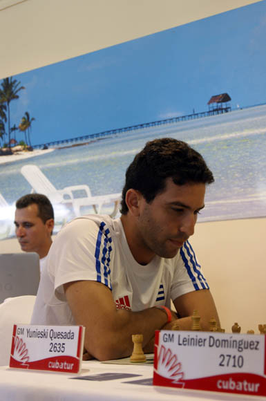 El GM Yuniesky Quesada.