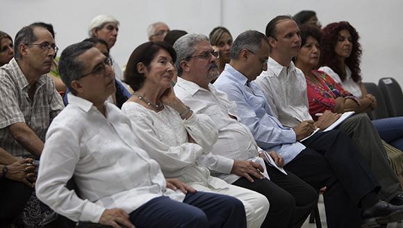 En la cita se reflexionó sobre el modelo de Buen Vivir impulsado por el gobierno del Evo Morales. Foto: Ismael Francisco/ Cubadebate.